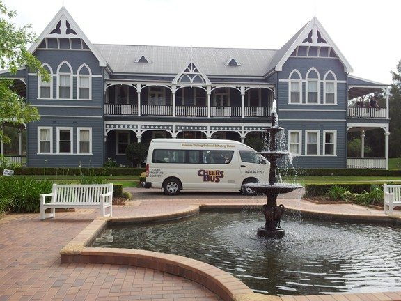 Cheers Bus, wine tours bus hire, Winery Tours